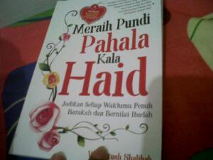 buku meraih pundi pahala kala haid oleh wardhatus shalihah
