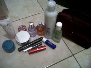 inside my beauty case
